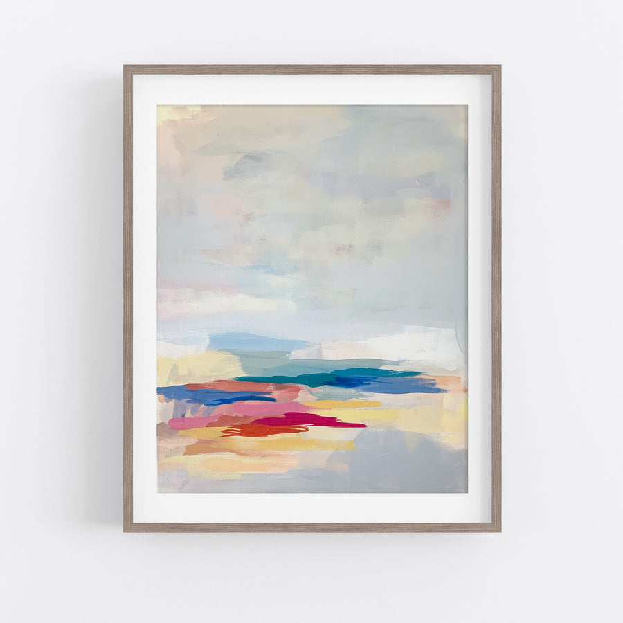 Journey In A Single Step - Art Print