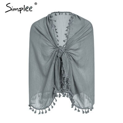 Elegant female swimsuit shawls 2019