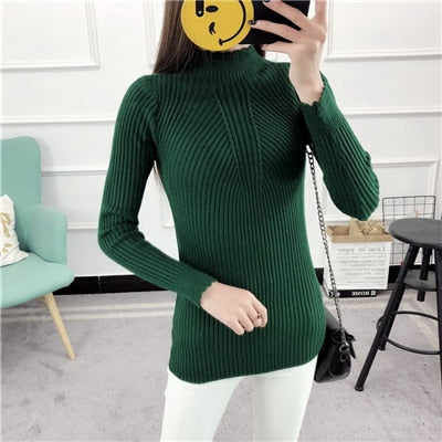 Sweaters And Pullovers Solid Color - Green / One Size