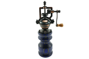 Colored Wood Peppermill - Blue, Gray
