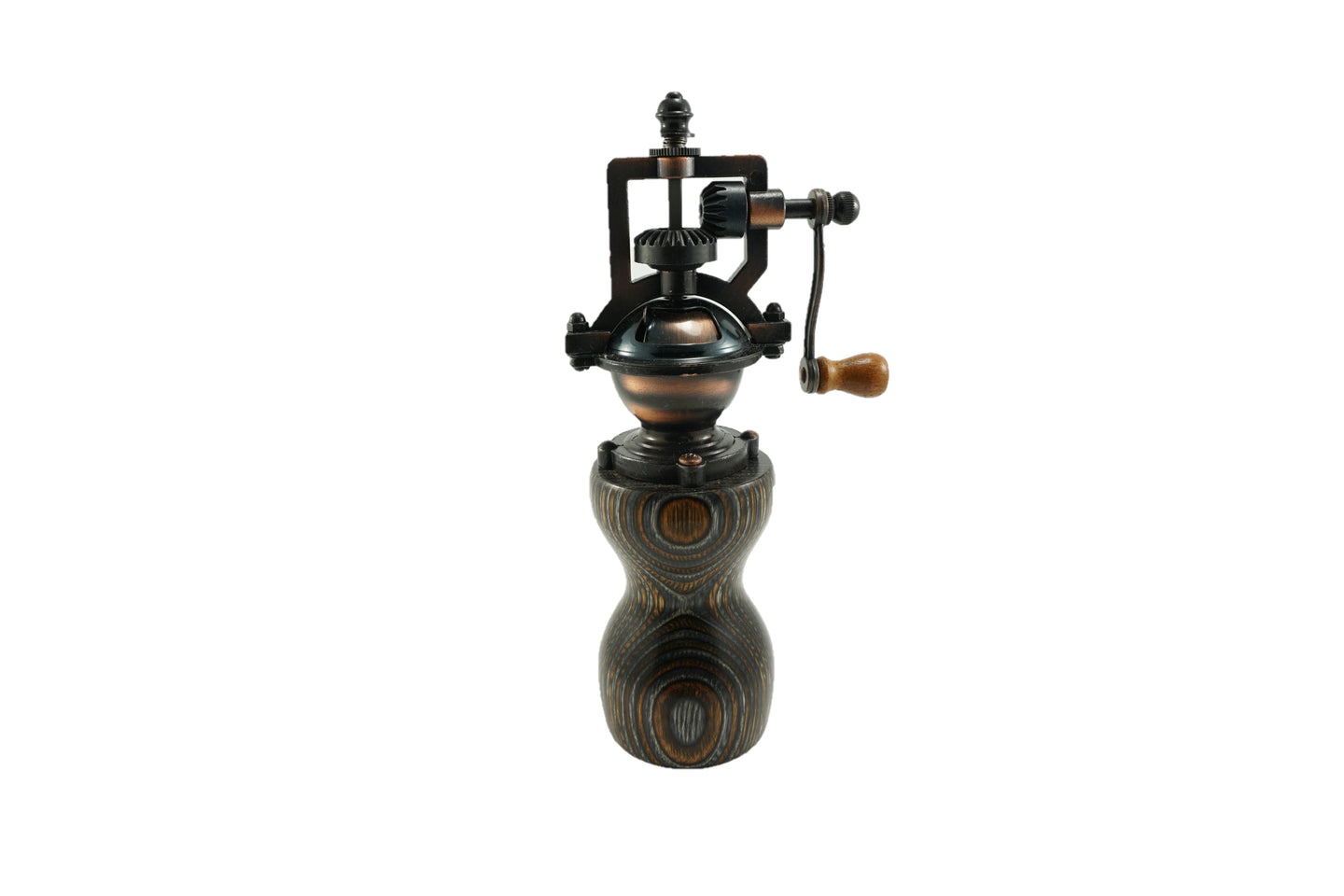 Colored Wood Peppermill - Brown, Gray