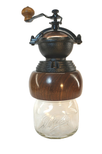 Black Walnut Coffee Grinder