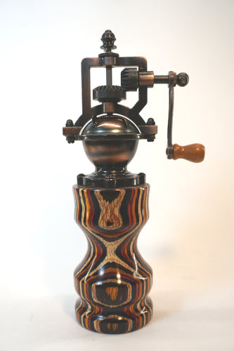 Colored Wood Peppermill