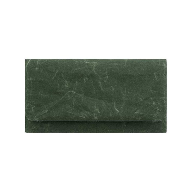 Siwa Long Wallet in Dark Green