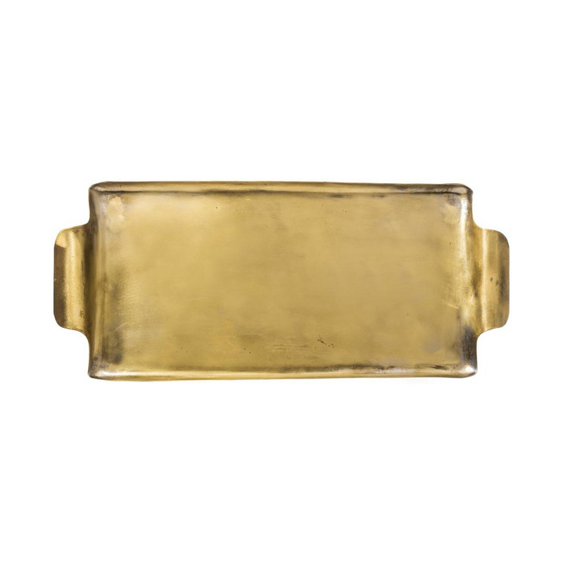 Puebco Brass Rectangle Tray