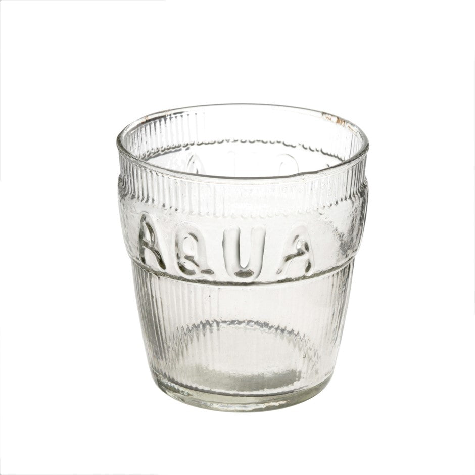 Aqua Drinking Glass