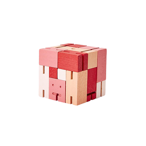 Small Cubebot in Multi Red