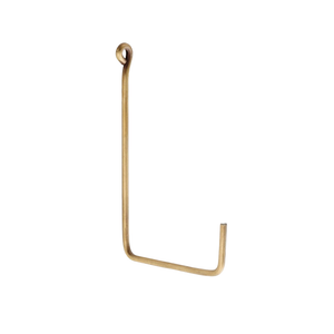 Medium Brass Single Hook