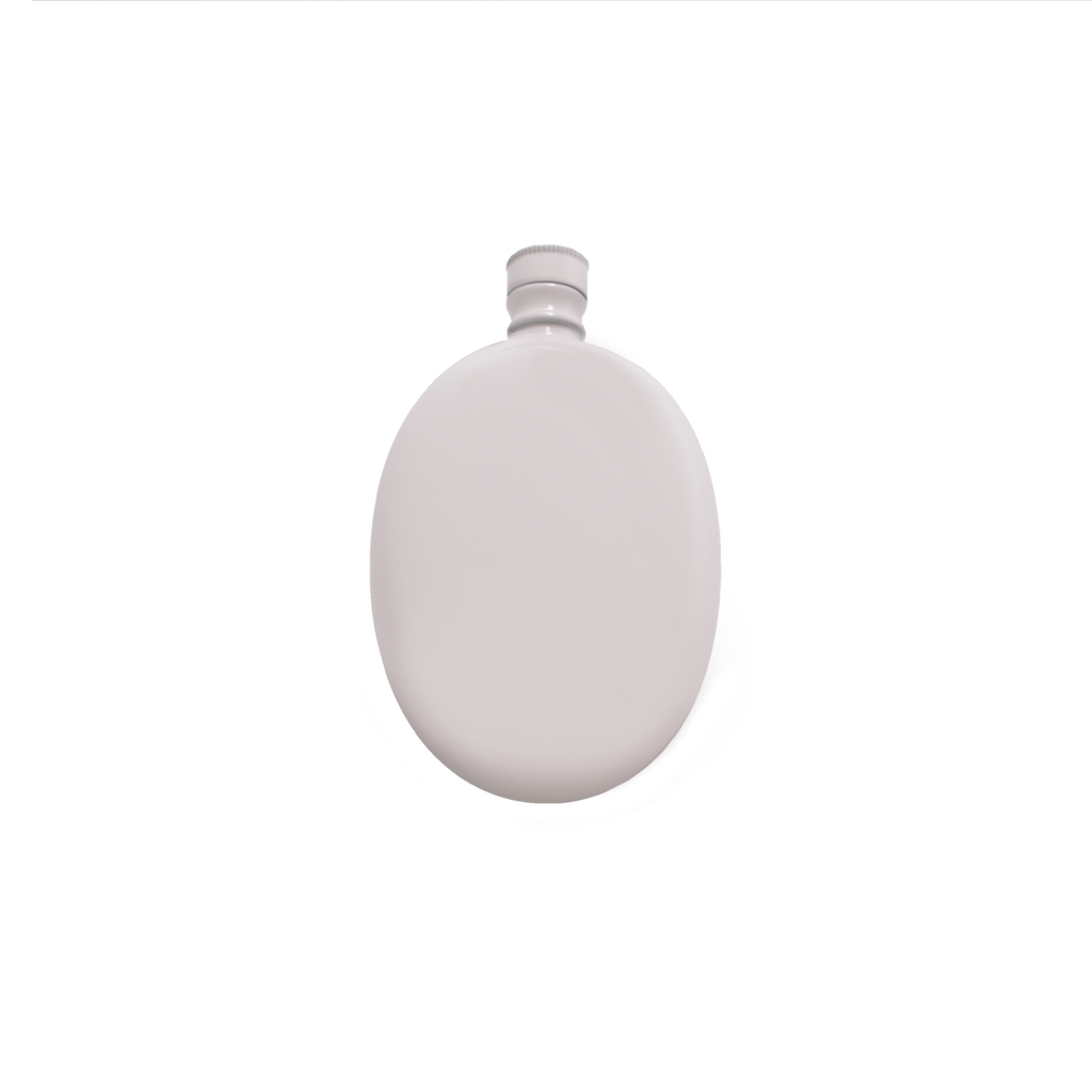 White/Soft Pink Odeme Flask