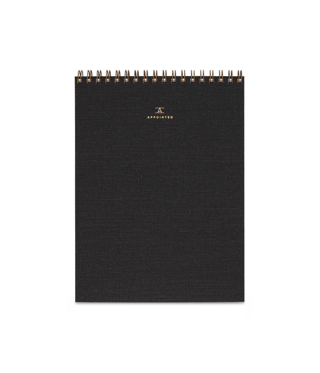 Appointed Office Notepad in Charcoal Grey