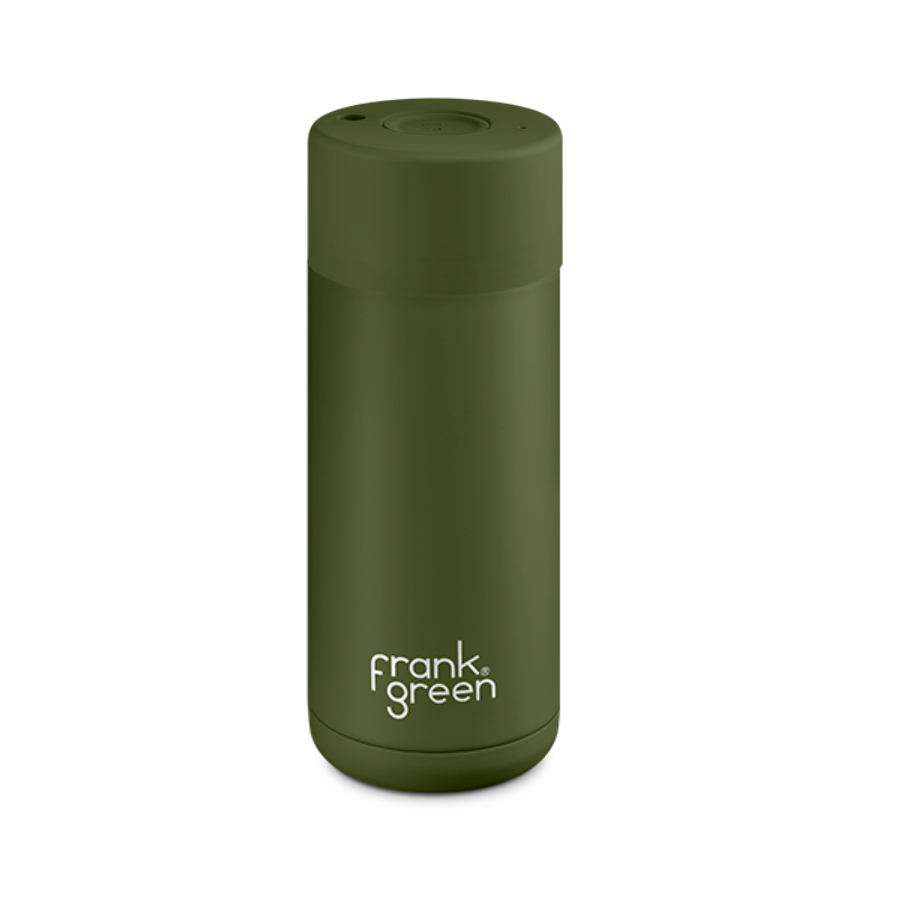 16 oz Frank Green Reusable Cup - Khaki