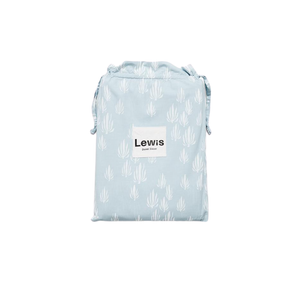 Lewis is Home Twin Duvet Cover - Inverse Seaweed