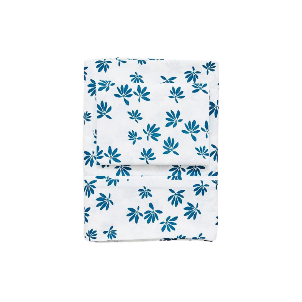 Lewis is Home Twin Sheet Set - Palm