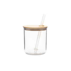 Bonbo Straw Cup in Yellow