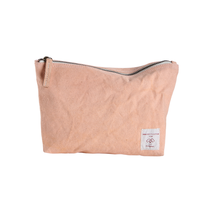 Immodest Cotton Pouch in Blush