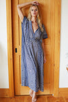 Emerson Fry Long Caftan in Ink Organic