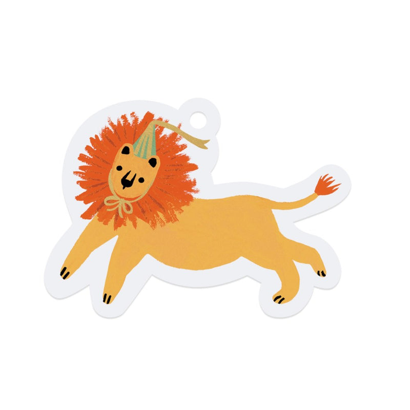 Lion Gift Tag Set