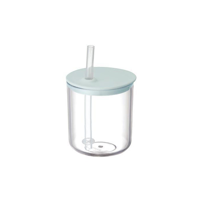 Bonbo Straw Cup in Blue Grey