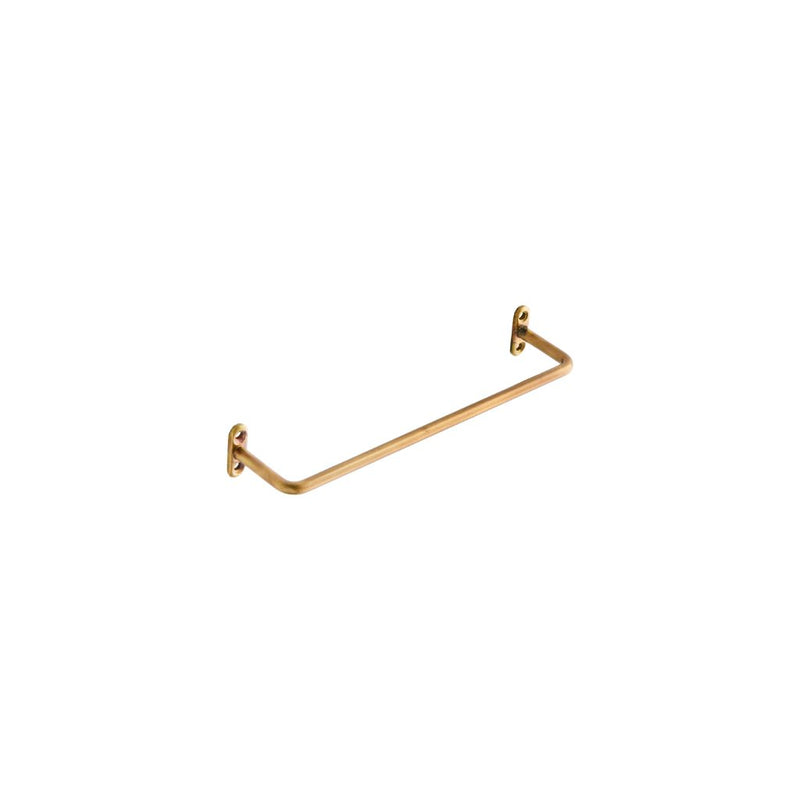 Small Towel Bar in Brass