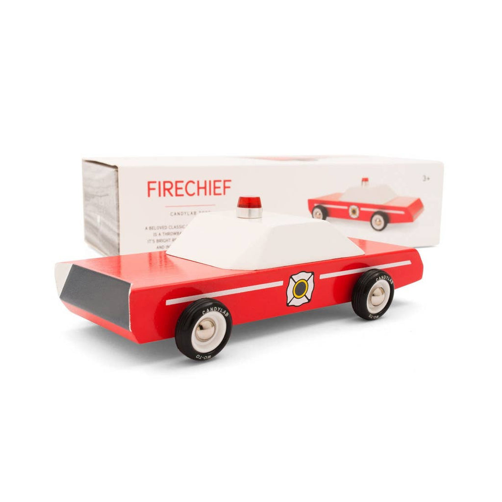 Red Firechief Car