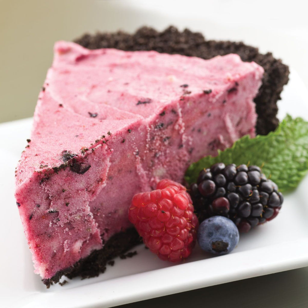 Mixed Berry Pie with Chocolate Crust