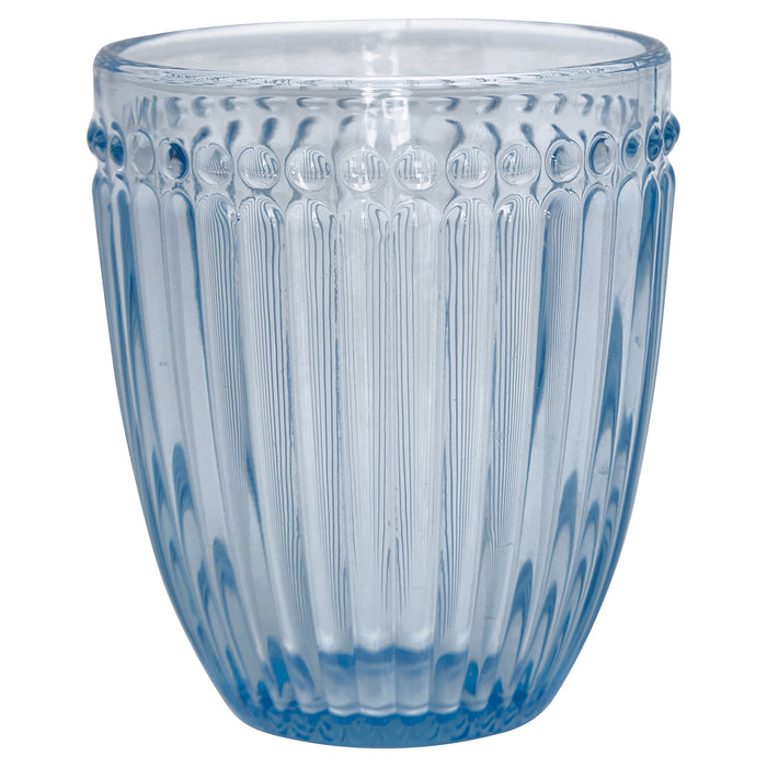 GreenGate Wasser Glas Alice Pale Blue