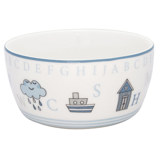 GreenGate Kinderschale Charlie Blue