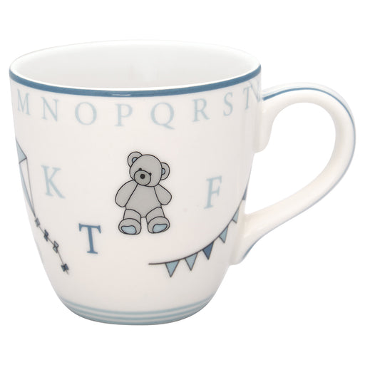 GreenGate Kinder Becher Stoneware Charlie blue