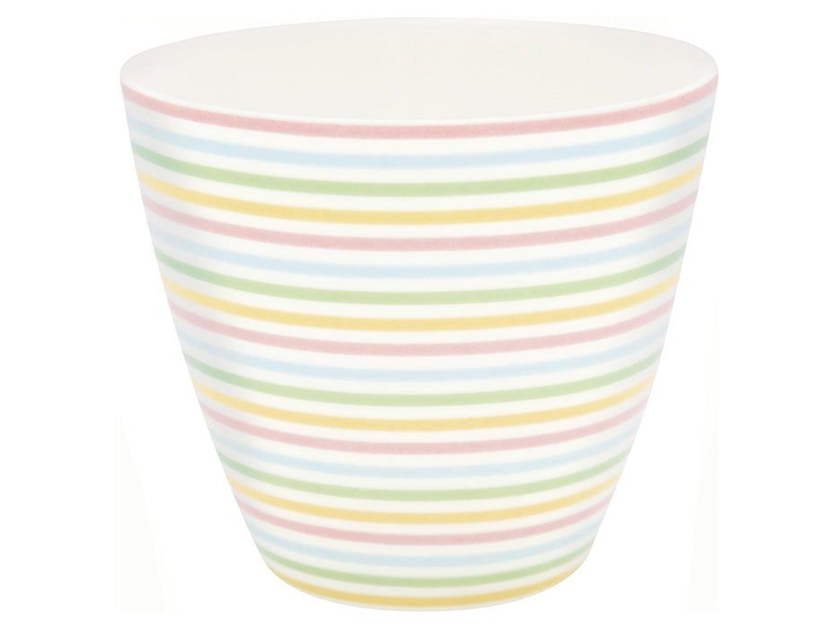GreenGate Latte Cup Ansley White