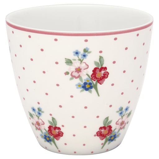 GreenGate Latte Cup Eja White