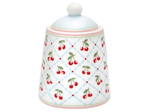 GreenGate Zuckerdose Cherie White