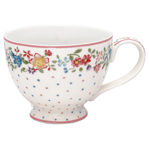 GreenGate Teacup Belle white
