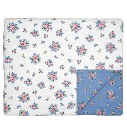 GreenGate Tagesdecke Nicoline Dusty Blue 140x220