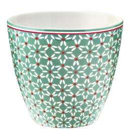 GreenGate Latte Cup Juno Green