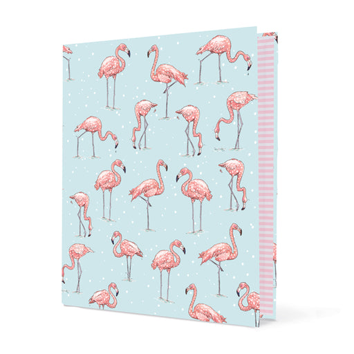 Krima & Isa Ringmappe Flamingo DIN A4