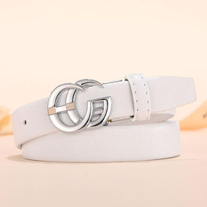 Viladress Women PU Belt Metal Letters Buckle (Limited sale ended.)
