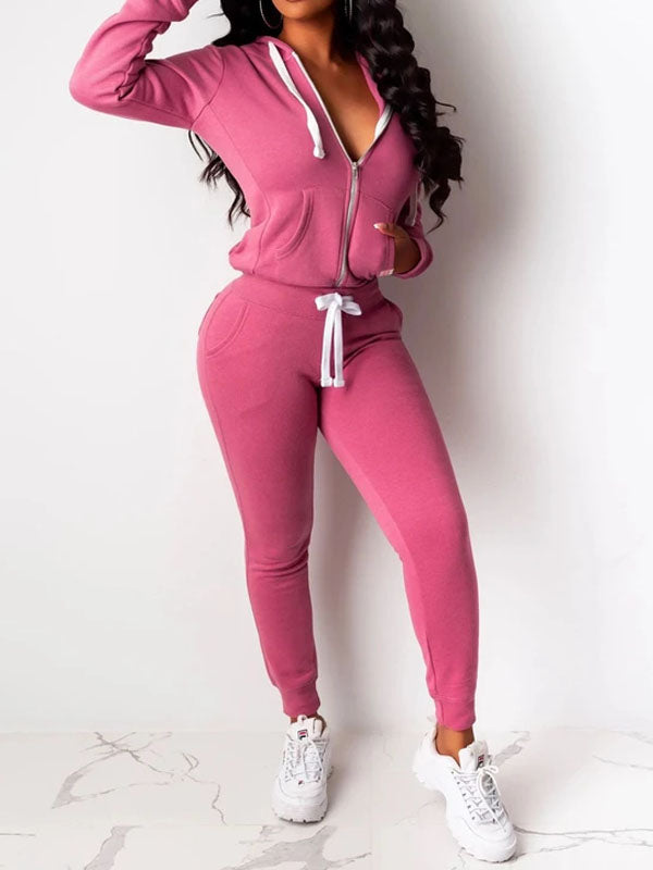 Viladress Hoodie and String Sweat Pants Sets
