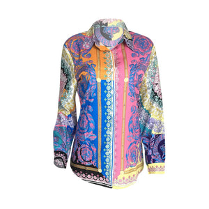 Print Women Long Shirt