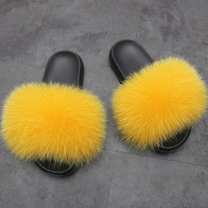 Viladress Furry Women Flip-flops Women Slippers