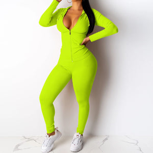 Viladress Hooded Tops and Pants Suit