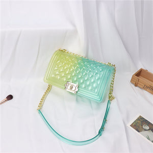Viladress 2020 Summer Gradient Colors Women Bag