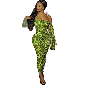 Viladress Slash Neck Women Jumpsuit Night Blub Jumpsuit