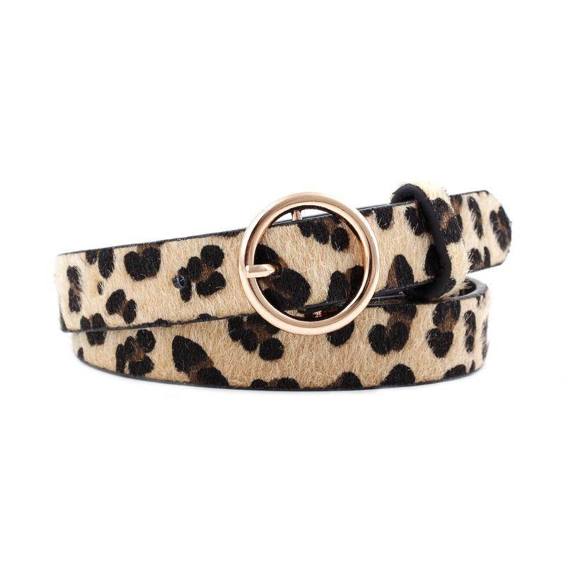Viladress 2020 Leopard Print Women Belt