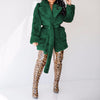 Viladress Artificial Fur Women Outerwear Coat