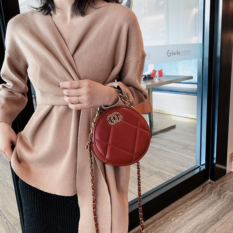 Viladress Round Shape Women Handbag