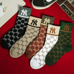 viladress Fashion Printing Autum Winter Women Socks (5 Pairs*2=10 Pairs) (Limited sale ended.)