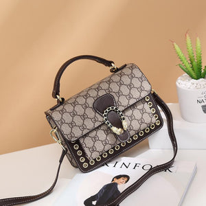 viladress Letters Printing Vintage Bag Women Handbag
