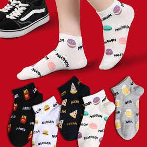 Viladress Hamburger and Potatoes Chips Printing【10 Pairs】