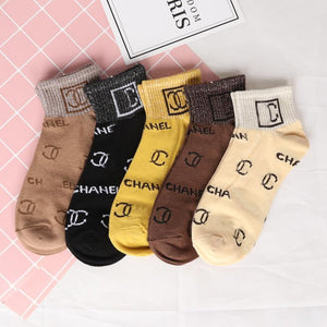 viladress Printing Woman Short Socks �0 Pairs�(Limited sale ended.)