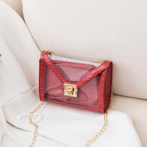Viladress   Women Handbag Transparent Handbag Women Purse